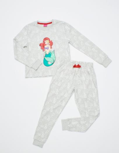Pijama La Sirenita de Algodon