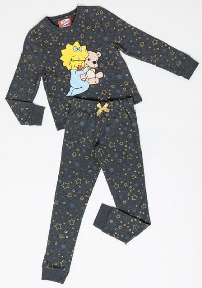 Pijama de Algodon Maggie Los Simpson