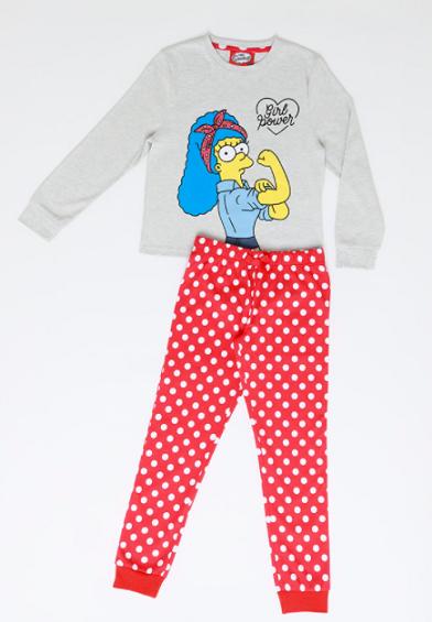 Pijama de Algodon Marge Los Simpson