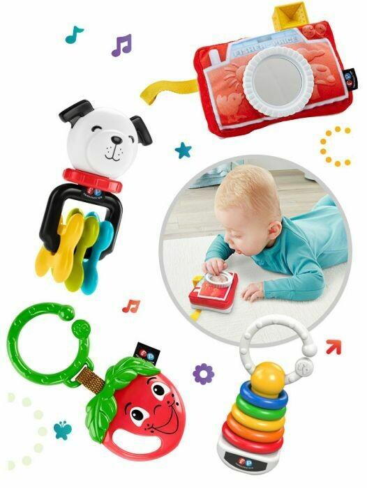 Set De Regalo Juguetes Clásicos Miniatura Para Bebe