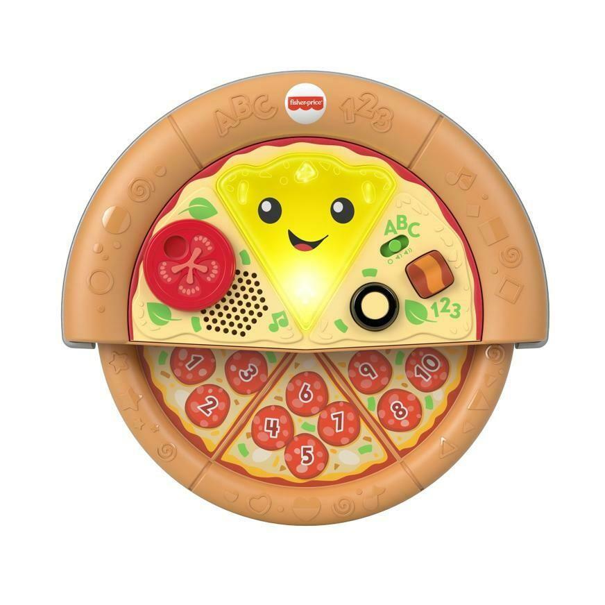 Fisher Price - Rie y Aprende Mi Primera Pizza