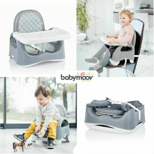 Babymoov - Badabulle Booster compacto Smokey