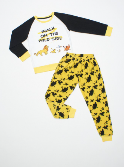 Pijama El Rey Leon de Polar