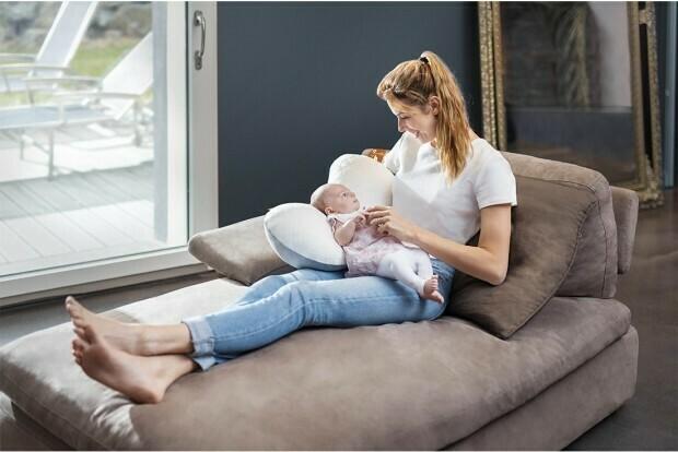 BabyMoov - Cojin de lactancia Mom & B Dotwork