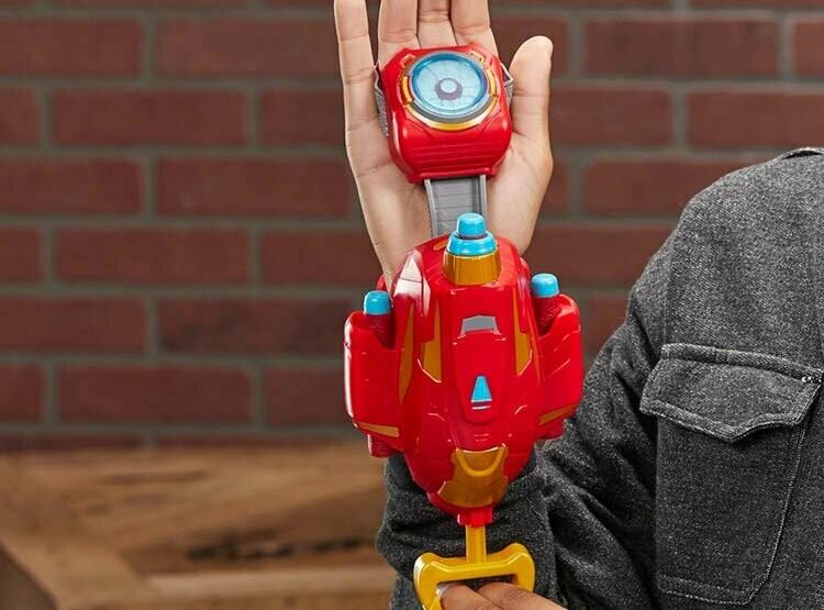 Hasbro - Avengers Iron Man Rayo Repulsor