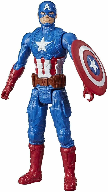 Hasbro - Avengers Titan Hero Figura Capitan America
