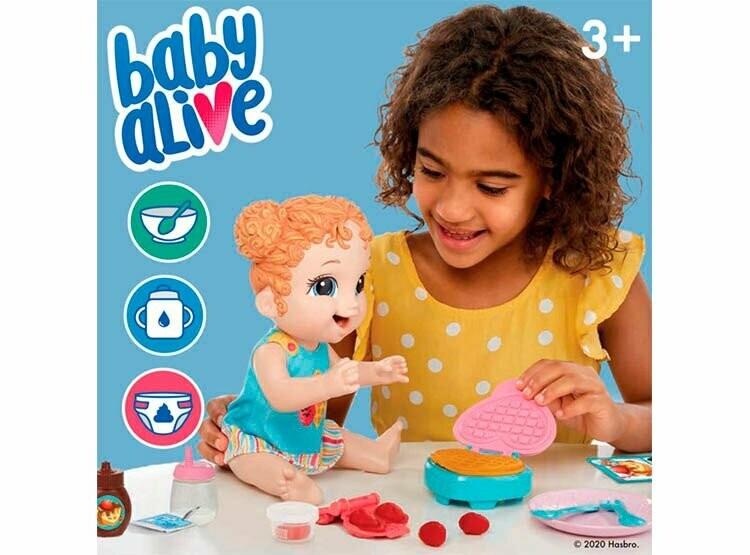 Hasbro - Baby Alive Hora De Comer