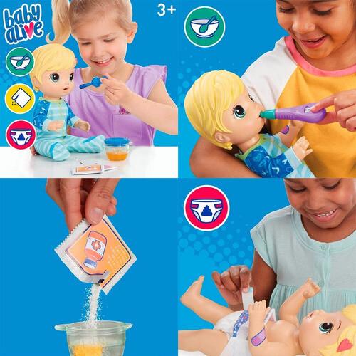 Hasbro - Baby Alive Bebe Prepara Mi Medicina