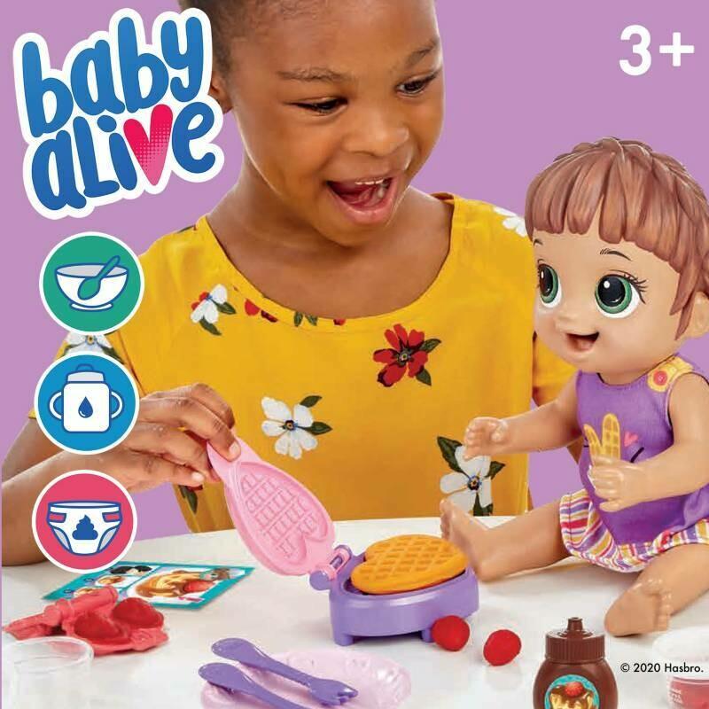 Hasbro - Baby Alive Hora del Desayuno Brn