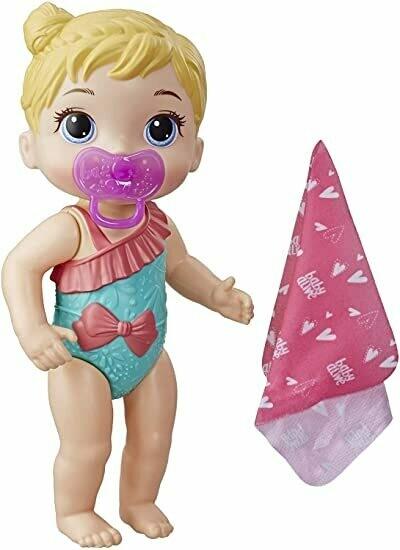 Hasbro - Baby Alive Bebe Rubia Chapoteos y Abrazos