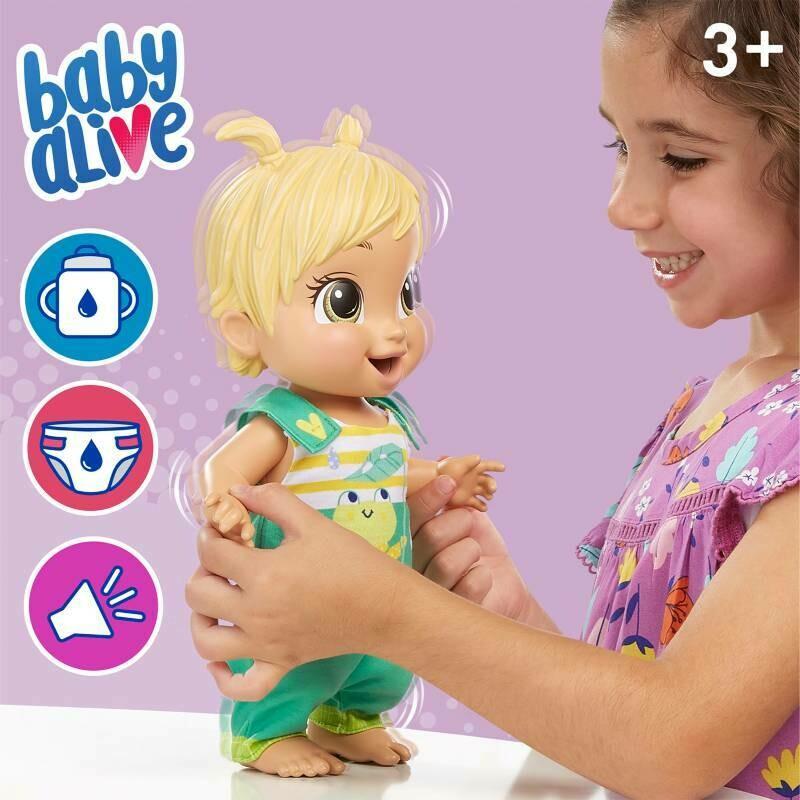 Hasbro - Baby Alive Ranita Saltarina
