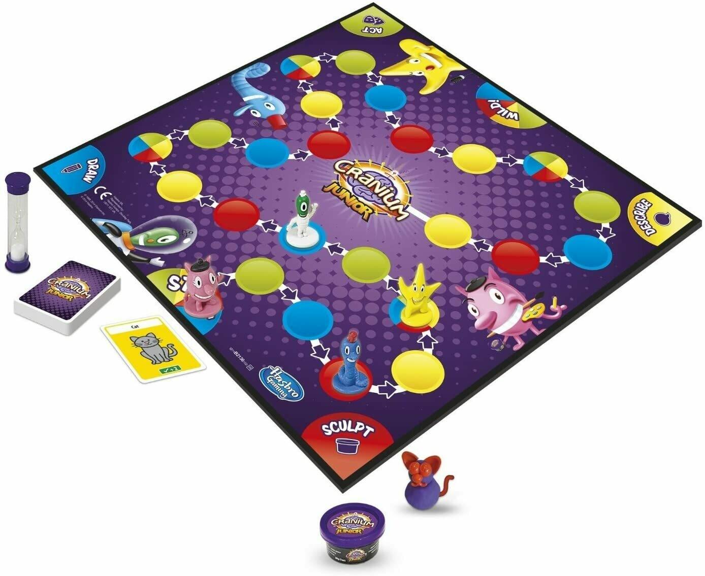 Hasbro - Juegos Hasbro Cranium Junior