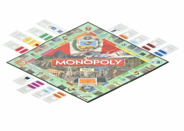 Hasbro - Monopoly Nacional Peru