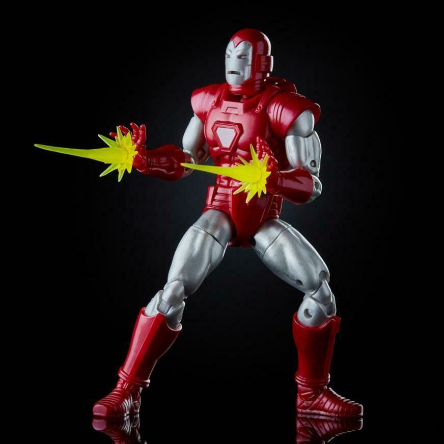 Hasbro - Marvel Legends Iron Man Silver