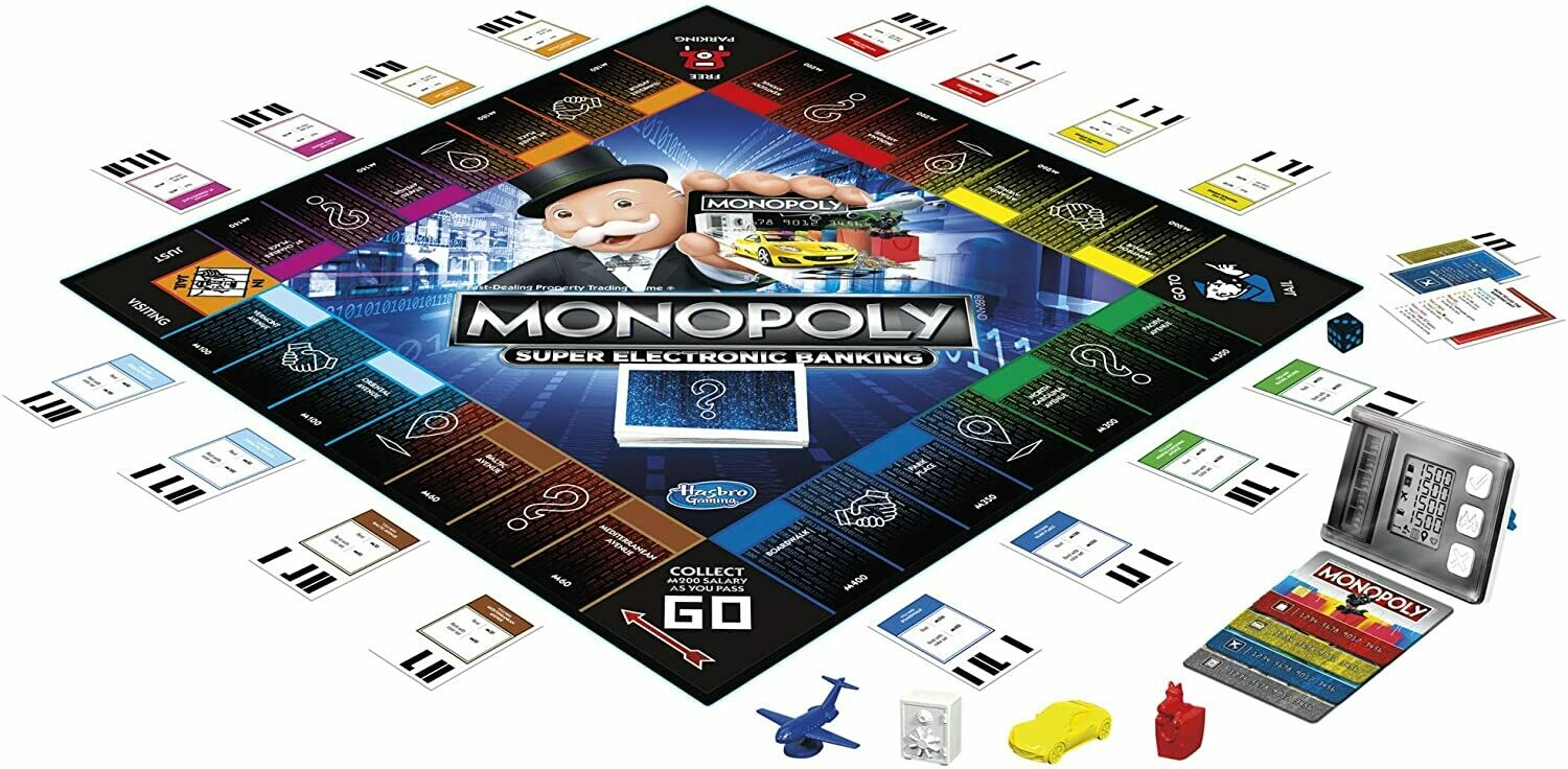 Hasbro - Monopoly Super Electronic Bankng