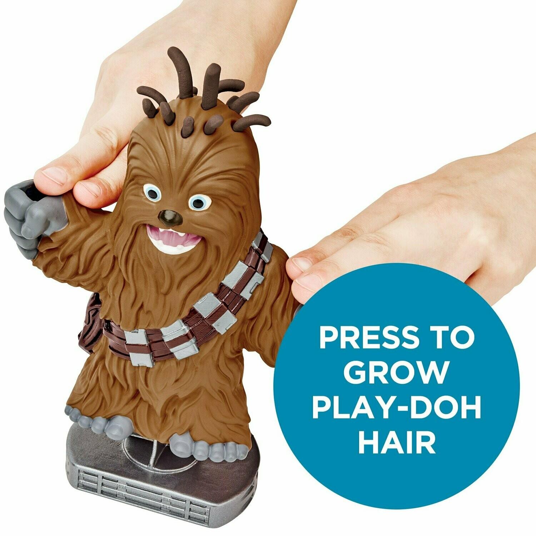 Hasbro - Play Dooh Star Wars Chewbacca Cortes Divertidos