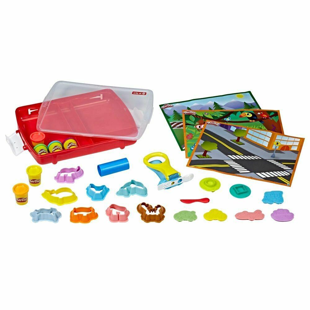Hasbro - Play Dooh Maleta De Actividades Academy