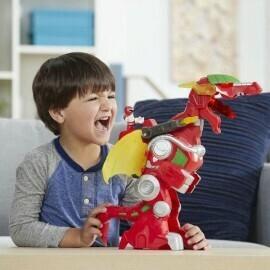Hasbro - Power Rangers L&S Red Dragon Zord