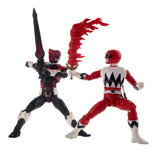 Hasbro - Power Rangers Red Ranger V In Space Psycho