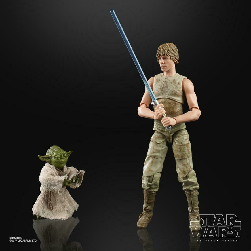 Hasbro - Star Wars Deluxe Luke And Yoda