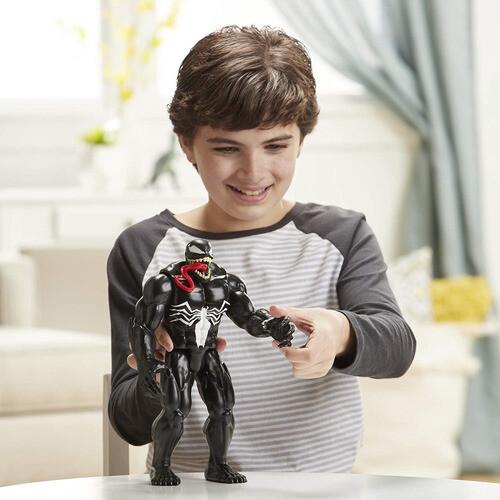 Hasbro - Spiderman Titan Hero Figura Max Venom