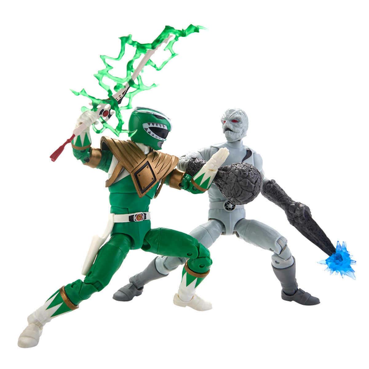 Hasbro - Power Rangers Lightning Green Vs Putty 6'