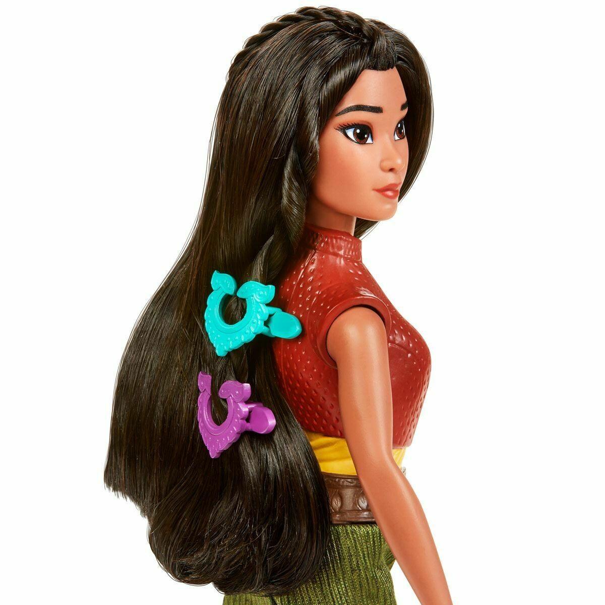 Hasbro - Princesas Disney Raya Set De Fuerza Y Estilo
