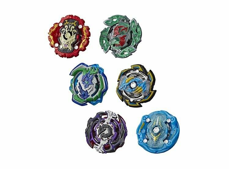 Hasbro - Beyblade Rock Dragon D5 Y Ogre O5
