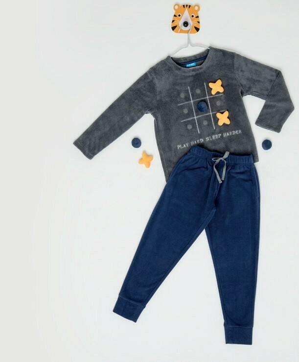 Pijama Michi de Coral Fleece