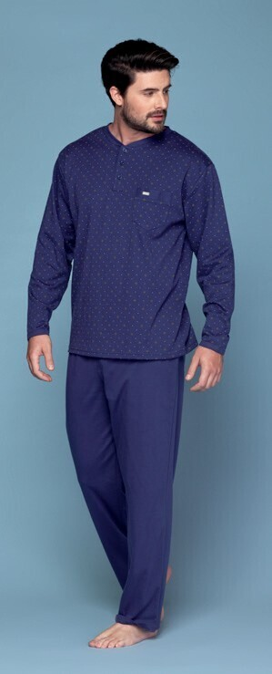Pijama Azul de Algodon