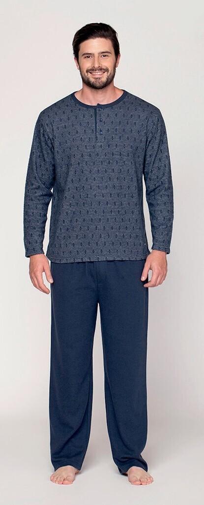 Pijama Azul de Franela