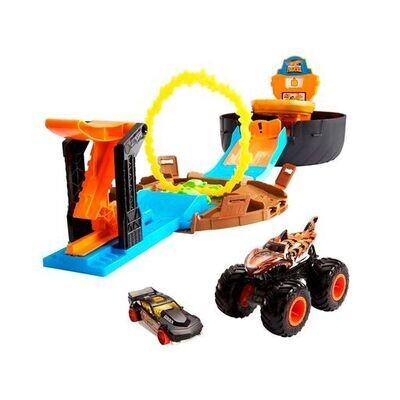 Hot Wheels - Monster Trucks Llanta de Acrobacias