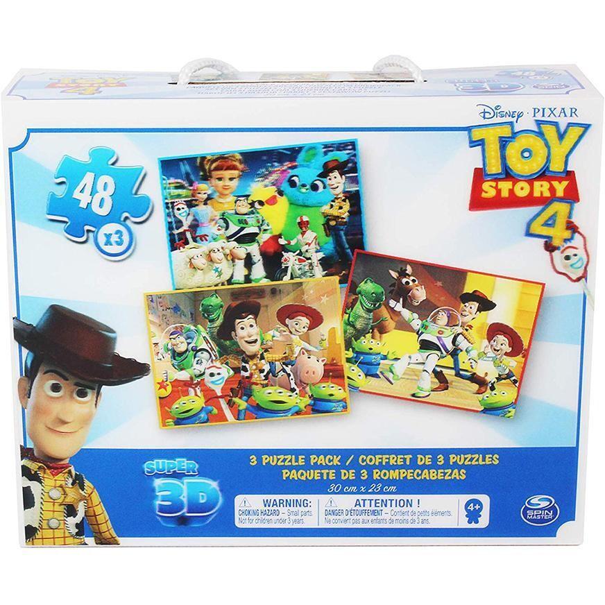 Rompecabeza Lenticular 3D de Toy Story