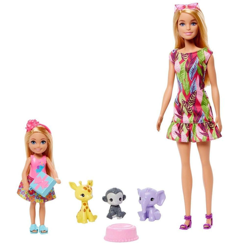 Barbie y Chelsea Animales De Selva