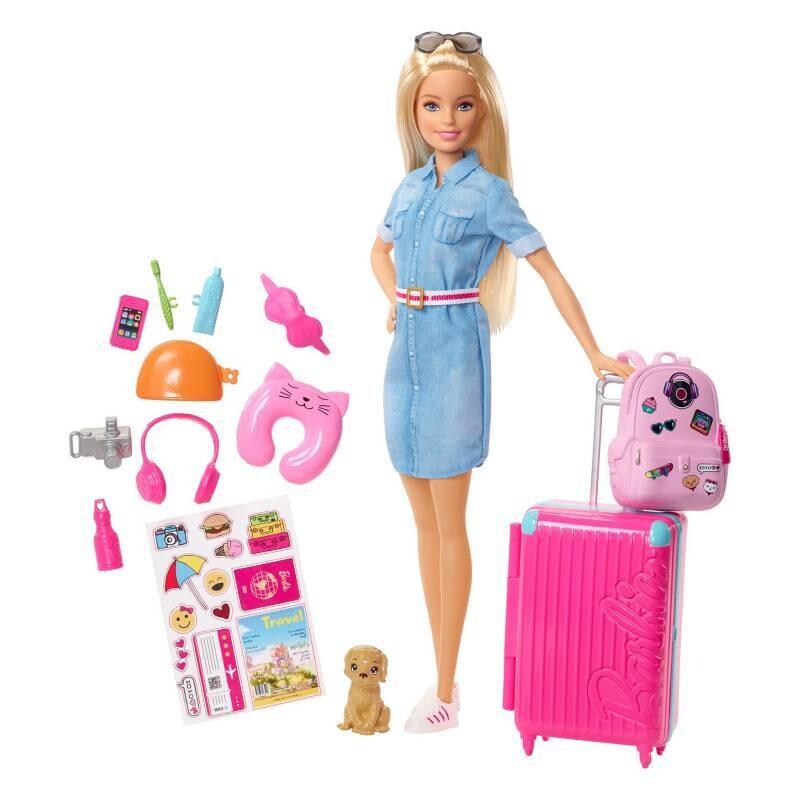Barbie - Viajera Explora y Descubre