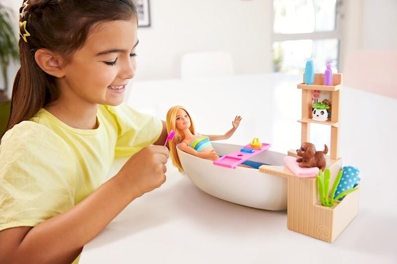 Barbie - Baño con Burbujas