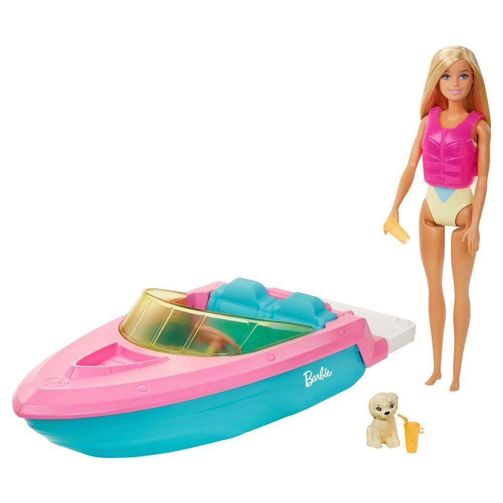 Barbie - Lancha con Muñeca