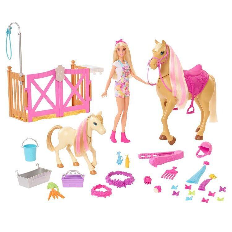 Barbie - Caballo Peinados Divertidos