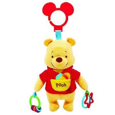 Winnie Pooh - Sonaja Colgante con Texturas y Mordedor