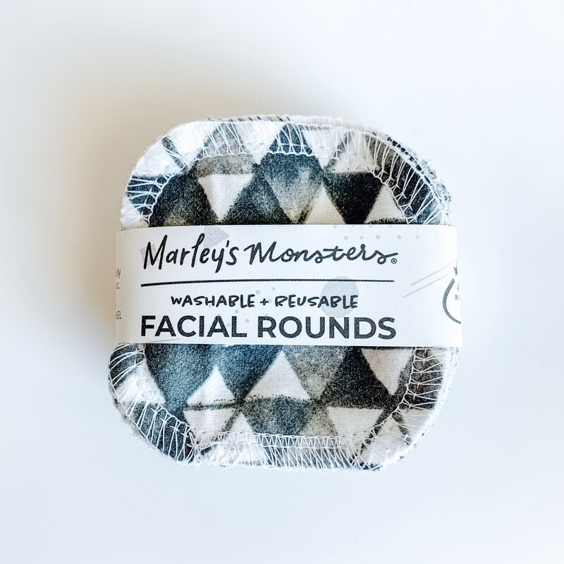 20 Facial Rounds - Monochrome Prints