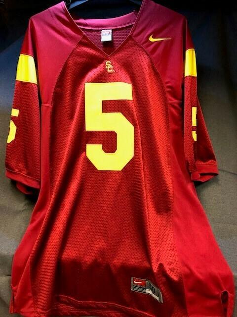 USC Trojans #5 Reggie Bush Jersey