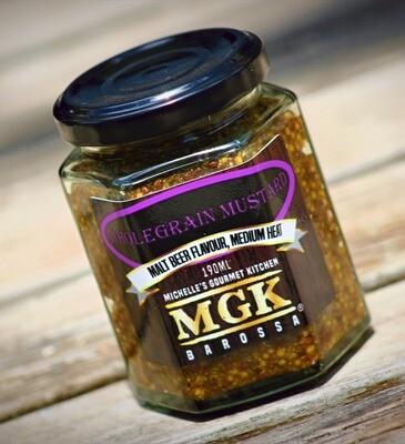 Wholegrain Mustard with Dark Ale 190ml