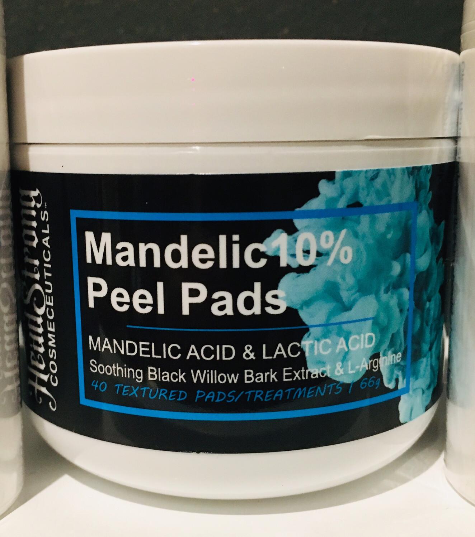 HeadStrong Cosmeceuticals Mandelic10% Peel Pads