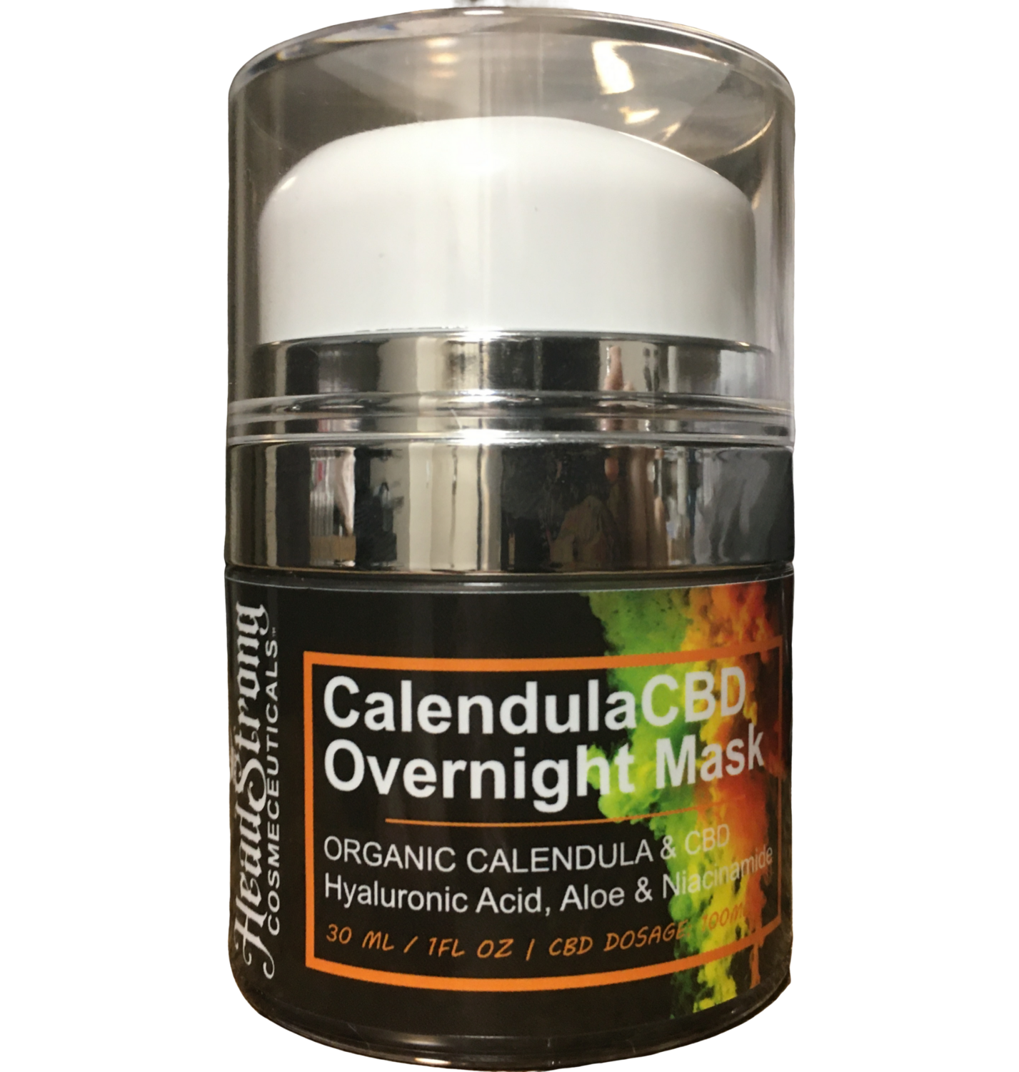 HeadStrong Cosmeceuticals CalendulaCBD Overnight Mask
