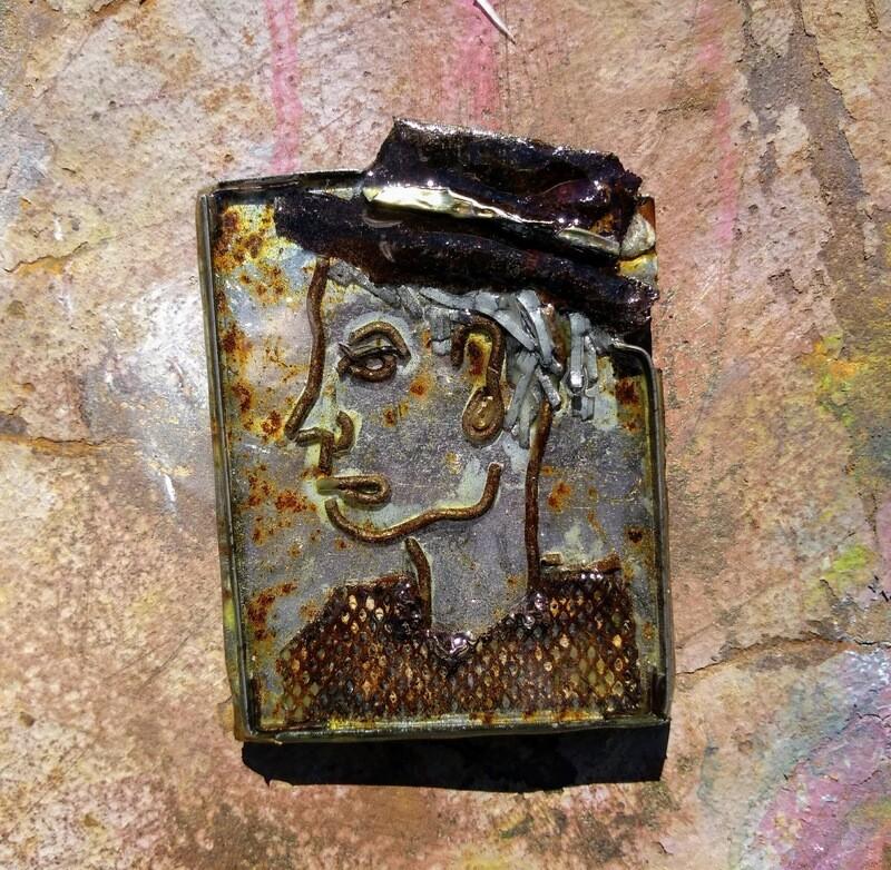 Small Batch Art Magnet #0412
