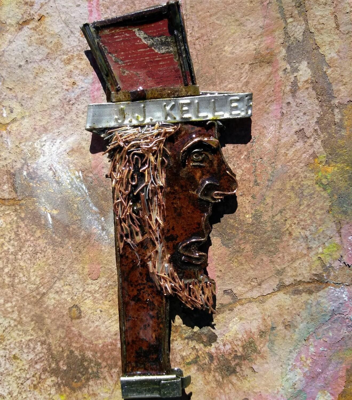 Small Batch Art Magnet #0405