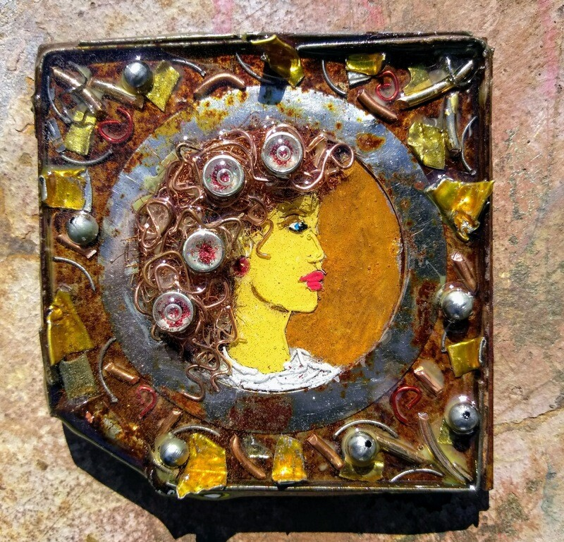 Small Batch Art Magnet #0403