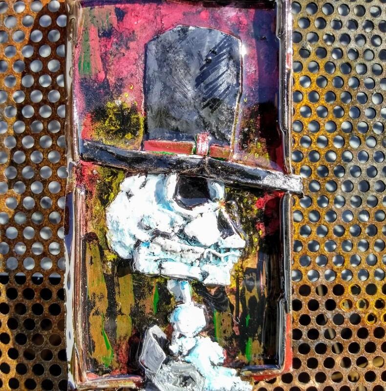 Small Batch Art Magnet #6704