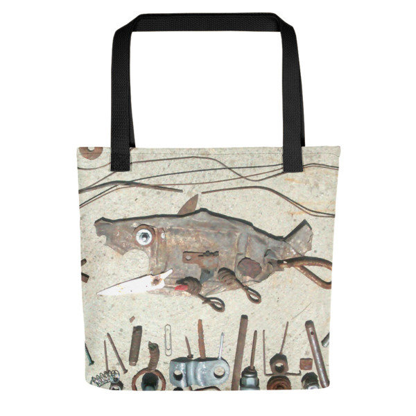 Urban Fishing Tote bag