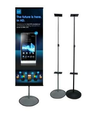 T Round Base Stand